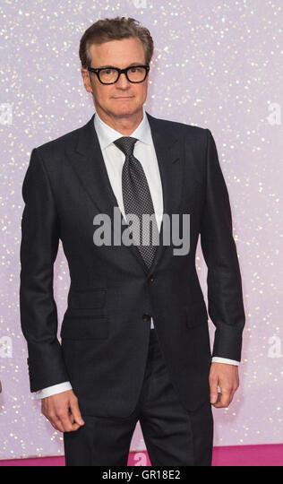 London, UK. 5. September 2016. Schauspieler Colin Firth. VIP roten Teppich für die Welt-Premiere von dem Film Stockbild