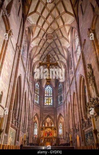 Freiburger Münster, Freiburg Im Breisgau, Deutschland Stockbild