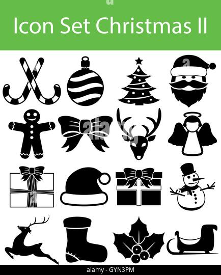 merry christmas icon logo template stockfotos merry. Black Bedroom Furniture Sets. Home Design Ideas
