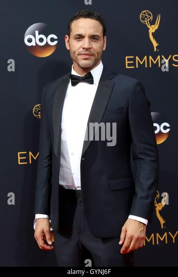 Los Angeles, CA, USA. 18. September 2016. Daniel Sunjata im Ankunftsbereich für das 68. Annual Primetime Emmy Stockbild