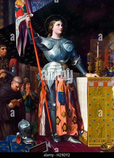 Jeanne d ' arc Stockbild