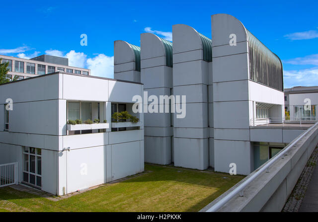 Bauhaus-Archiv & Design-Museum in Berlin Stockbild