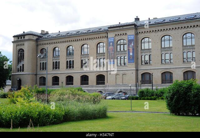 Norwegen. Oslo. Historisches Museum. Stockbild