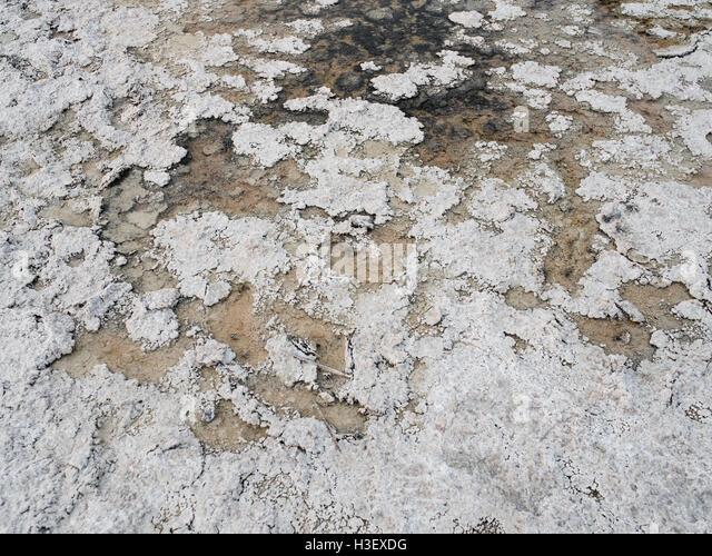 Badwater Basin - Death Valley Nationalpark Stockbild