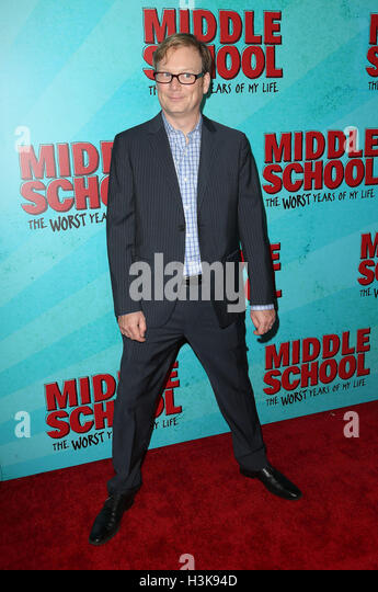 Hollywood, Kalifornien, USA. 5. Oktober 2016. 5. Oktober 2016 - Hollywood, Kalifornien - Andy Daly. '' Mittelschule: Stockbild