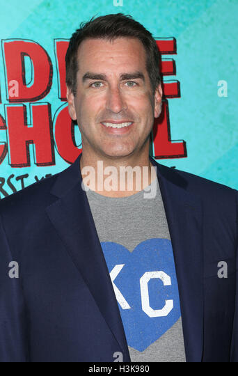 Hollywood, Kalifornien, USA. 5. Oktober 2016. 5. Oktober 2016 - Hollywood, Kalifornien - Rob Riggle. '' Stockbild