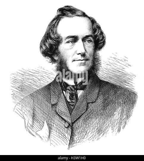 John Leech (1817 ? 1864) war ein englischer Karikaturist und Illustrator am besten bekannt für seine Arbeit Stockbild