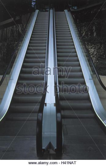 Rolltreppen, von unten, Rolltreppe, stetigen Sponsor, Treppen, Förderung, Transport der Mensch, Produkt-Fotografie Stockbild