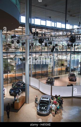 VW-Herstellung, Halle, Dresden, Sachsen, Deutschland Stockbild