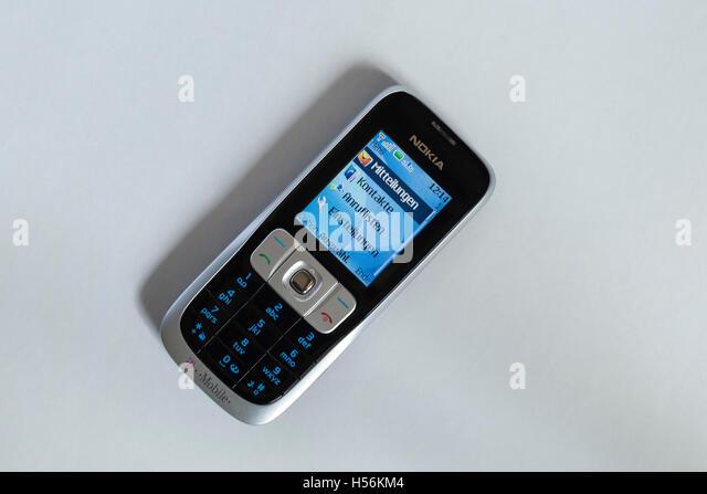 Veraltete Nokia Handy Deutschland Stockbild