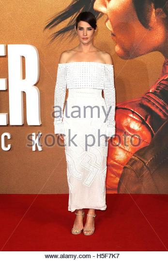 London, UK. 20. Oktober 2016. Kanadische Schauspielerin Cobie Smulders auf dem roten Teppich bei der Europäische Stockbild