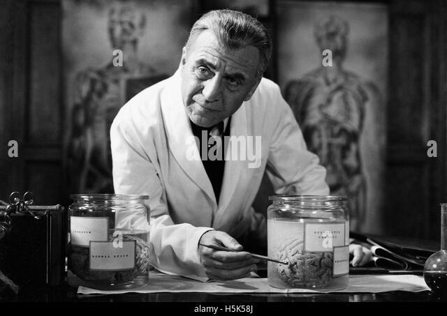 Frankenstein 1931 - Filmplakat Stockbild