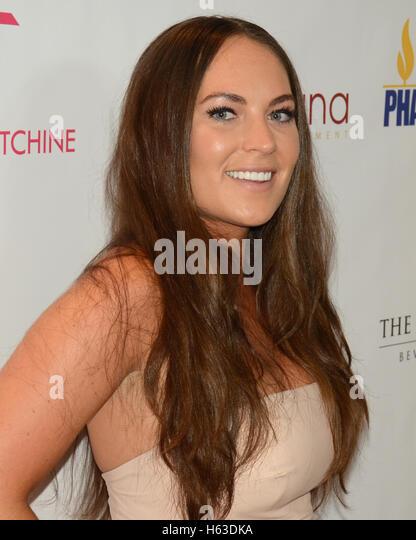 Jessie McLachan besucht die Primetime EMMY Awards: Bellafortuna Toast The EMMYS: A Celebration Of Diversity Stockbild