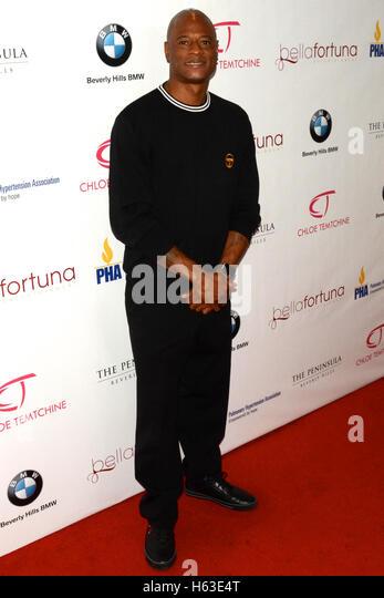 Jamal Weathers besucht den Primetime EMMY Awards: Bellafortuna Toast The EMMYS: A Celebration Of Diversity Stockbild