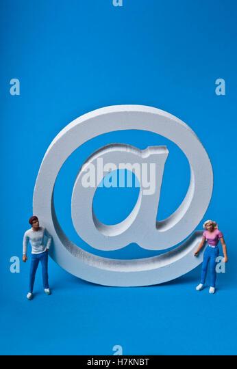 e-Mail-Konzept Stockbild