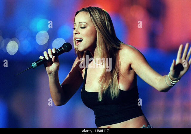 MARIAH CAREY 15. November 1999 Stockbild