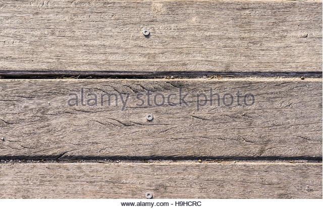 Textur aus Holzlatten in horizontale Reihenfolge Stockbild