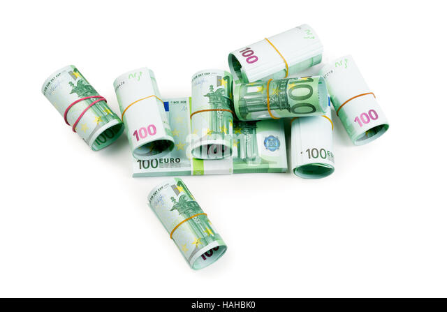 one hundred euro banknote in stockfotos  one hundred euro