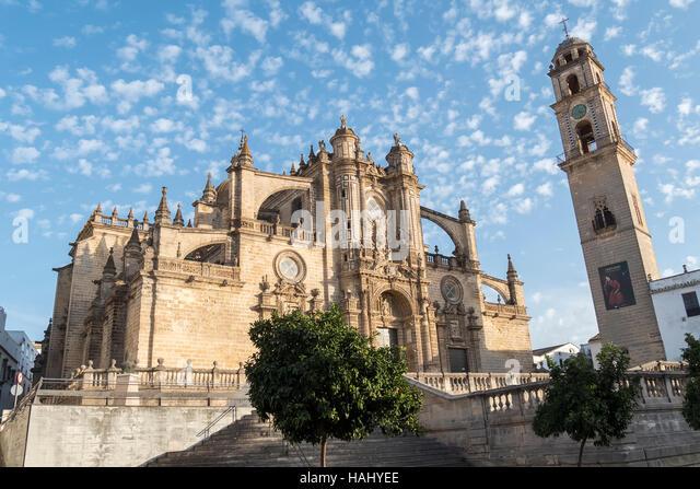 Jerez De La Frontera Kathedrale, Spanien Stockbild