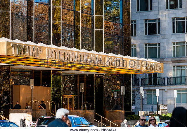 Trump International Hotel and Tower Stockbild