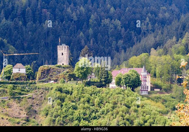 Schwarzwald: Hornberg im Schwarzwald Stockbild