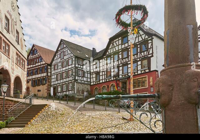 Schwarzwald: Schiltach, Deutschland Stockbild