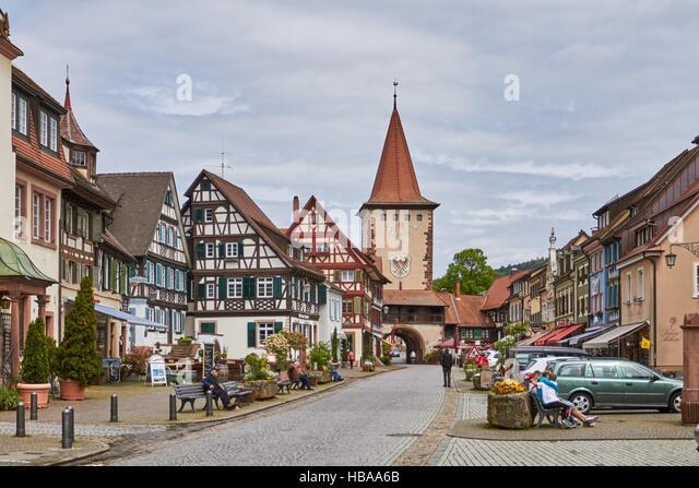 Schwarzwald: Gengenbach im Schwarzwald Stockbild
