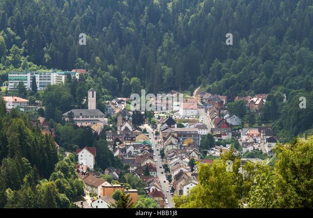 Schwarzwald: Triberg, Deutschland Stockbild