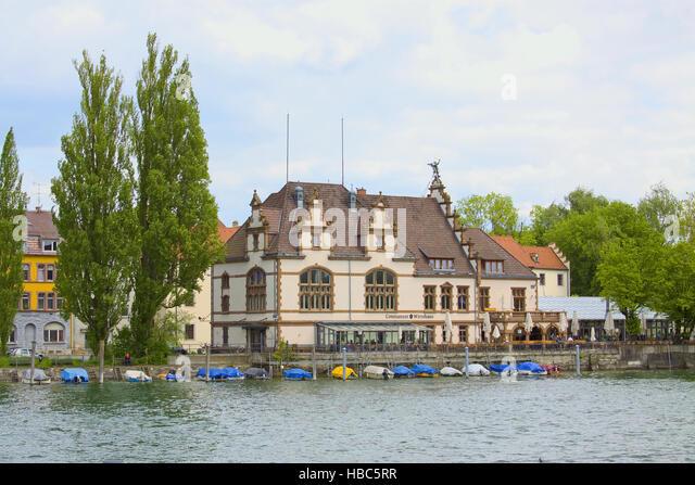 Seerhein Konstanz Stockbild