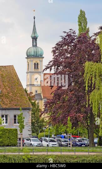 Christuskirche Konstanz Stockbild