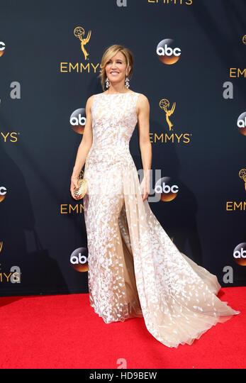 2016 Primetime Emmy Awards - Anreise am Microsoft-Theater am 18. September 2016 in Los Angeles, CA mit: Felicity Stockbild