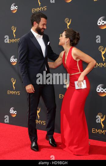 2016 Primetime Emmy Awards - Anreise am Microsoft-Theater am 18. September 2016 in Los Angeles, CA mit: Tom Cullen, Stockbild