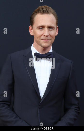2016 Primetime Emmy Awards - Anreise am Microsoft-Theater am 18. September 2016 in Los Angeles, CA mit: Tom Hiddleston Stockbild