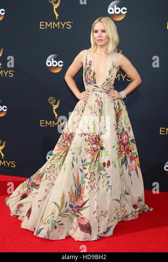 2016 Primetime Emmy Awards - Anreise am Microsoft-Theater am 18. September 2016 in Los Angeles, CA mit: Kristen Stockbild