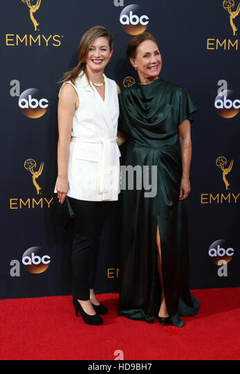 2016 Primetime Emmy Awards - Anreise am Microsoft-Theater am 18. September 2016 in Los Angeles, CA Featuring: Tochter Stockbild