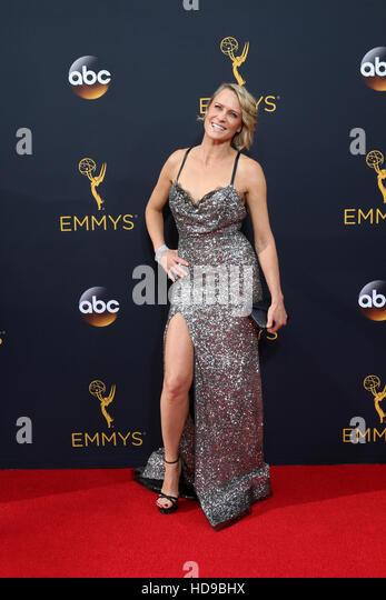 2016 Primetime Emmy Awards - Anreise am Microsoft-Theater am 18. September 2016 in Los Angeles, CA mit: Robin Wright Stockbild