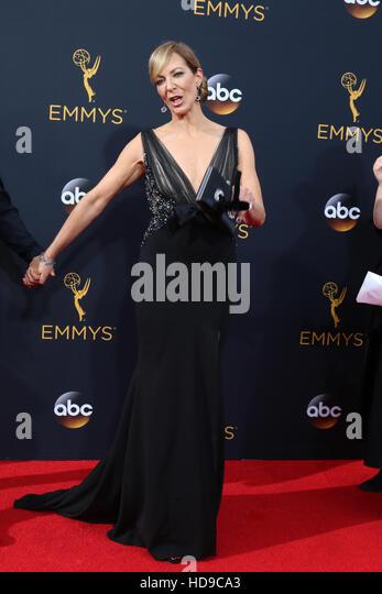 2016 Primetime Emmy Awards - Anreise am Microsoft-Theater am 18. September 2016 in Los Angeles, CA mit: Allison Stockbild