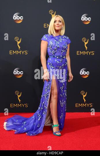 2016 Primetime Emmy Awards - Anreise am Microsoft-Theater am 18. September 2016 in Los Angeles, CA mit: Jane Krakowski Stockbild