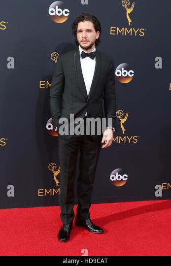2016 Primetime Emmy Awards - Anreise am Microsoft-Theater am 18. September 2016 in Los Angeles, CA mit: Kit Harrington Stockbild