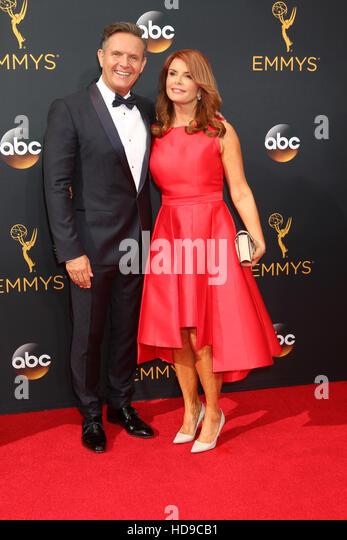 2016 Primetime Emmy Awards - Anreise am Microsoft-Theater am 18. September 2016 in Los Angeles, CA mit: Mark Burnett, Stockbild