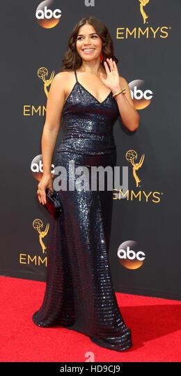 2016 Primetime Emmy Awards - Anreise am Microsoft-Theater am 18. September 2016 in Los Angeles, CA mit: America Stockbild