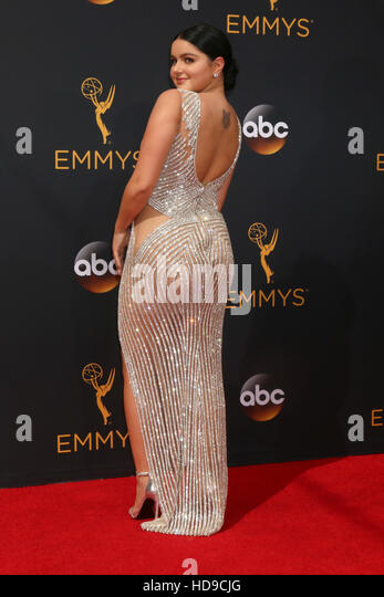 2016 Primetime Emmy Awards - Anreise am Microsoft-Theater am 18. September 2016 in Los Angeles, CA mit: Ariel Winter Stockbild