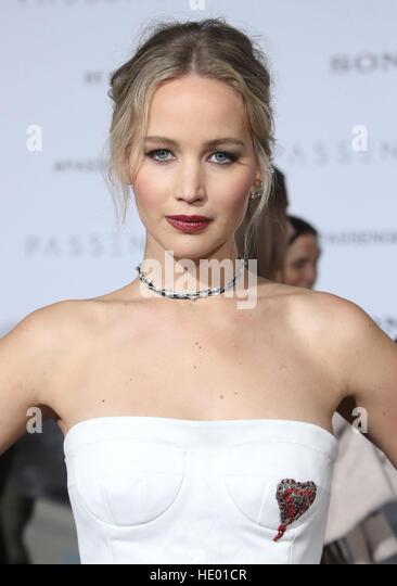Westwood, Kalifornien, USA. 14. Dezember 2016. 14. Dezember 2016 - Westwood, Kalifornien - Jennifer Lawrence. '' Stockbild