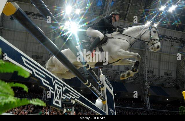 London, UK. 15. Dezember 2016. Olympia London International Horse Show in Grand Hall Olympia London, UK. 15. Dezember Stockbild