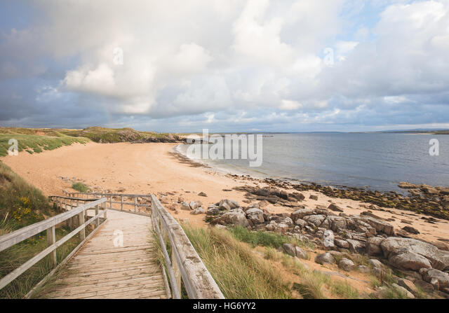 Maghera Strand, Grafschaft Donegal. Irland Stockbild