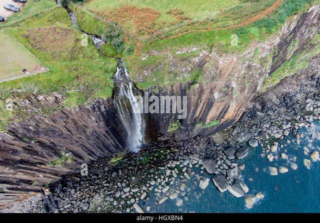 Kilt Rock, Isle Of Skye, Schottland, Vereinigtes Königreich Stockbild