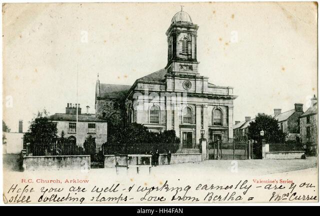 Römisch-katholische Kirche, Arklow, County Wicklow, Irland. Stockbild