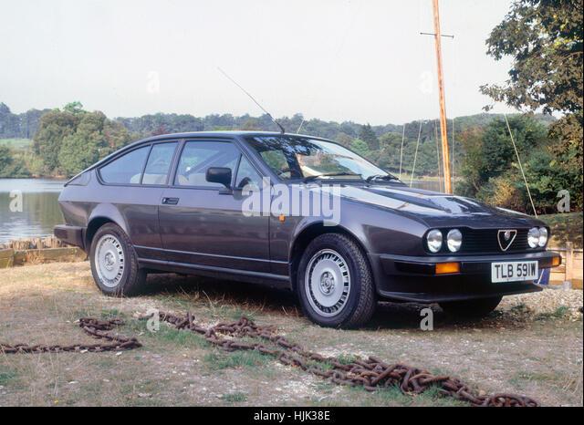 1981-Alfa Romeo GTV6 Stockbild