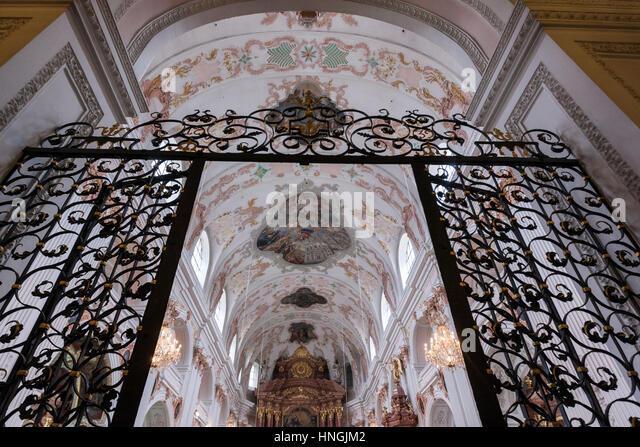 Jesuitenkirche stockfotos jesuitenkirche bilder alamy for Innendekoration heidelberg