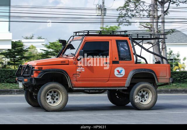 CHIANG MAI, THAILAND - 28. November 2016: Pkw, Suzuki Caribian. Foto in no.1001 Straße ca. 8 km von der Innenstadt Stockbild